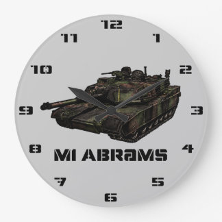 M1 Abrams Wallclock