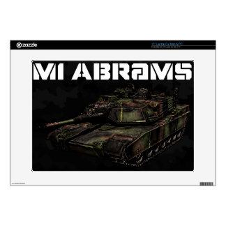 """M1 Abrams Decals For 15"""" Laptops"""