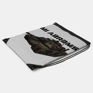 M1 Abrams Drawstring Bag