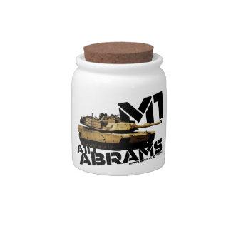 M1 Abrams Jarra Para Caramelo