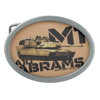 M1 Abrams Hebilla Cinturón