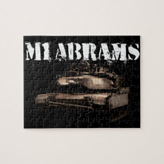 M1 Abrams Jigsaw Puzzle