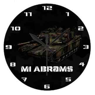 M1 Abrams Large Clock