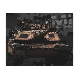 M1 Abrams Lienzo Envuelto Para Galerias
