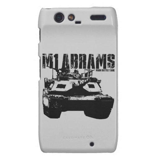 M1 Abrams Motorola Droid RAZR Covers