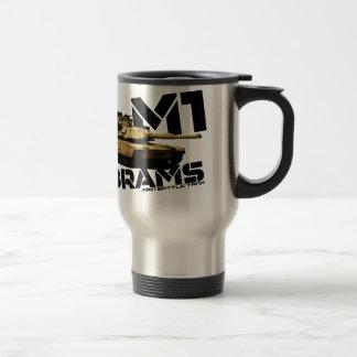 M1 Abrams 15 Oz Stainless Steel Travel Mug
