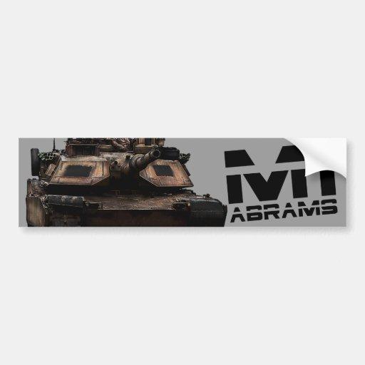 M1 Abrams Pegatina Para Auto