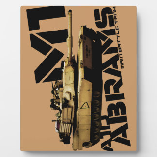 M1 Abrams Placa Para Mostrar