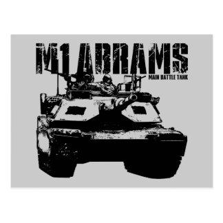 M1 Abrams Postcards