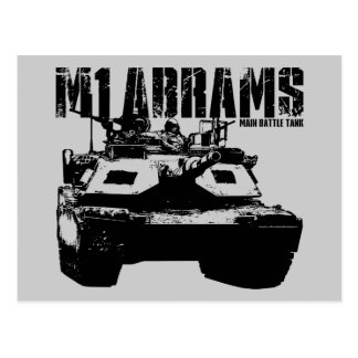 M1 Abrams Post Cards