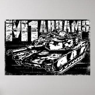 M1 Abrams Poster
