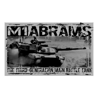 M1 Abrams Print