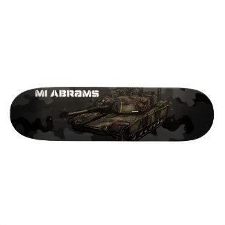 M1 Abrams Skateboard Deck
