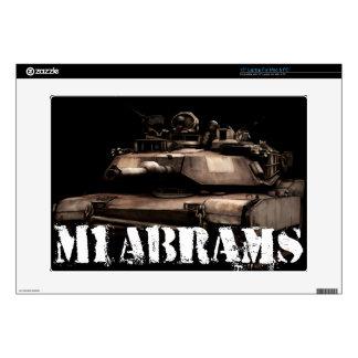 """M1 Abrams 15"""" Laptop Skins"""