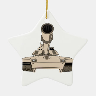 M1 Abrams Tank Ceramic Ornament