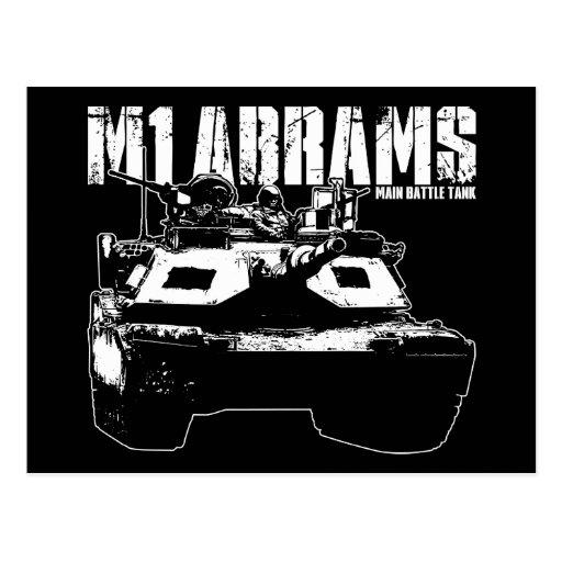 M1 Abrams Tarjetas Postales