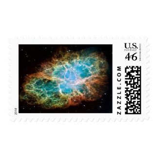 M1-Crab Nebula a Science & Astronomy Gift Idea Stamp