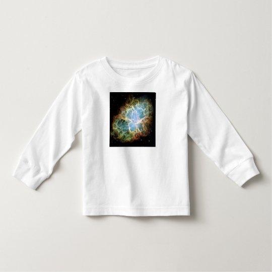 M1 Crab Nebula (NGC 1952) kids Astronomy clothes Toddler T-shirt