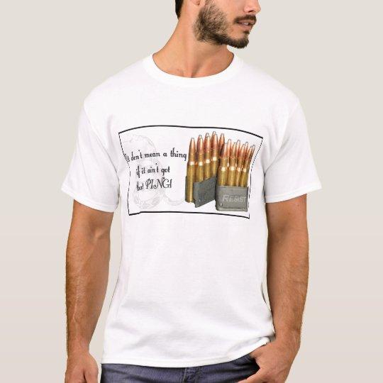 M1 Garand Ammo Ping Light T-Shirt