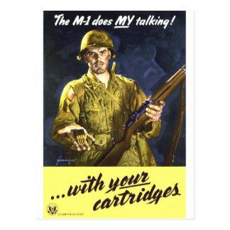M1 habla para mí tarjetas postales