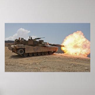 M1A1 Abrams Impresiones