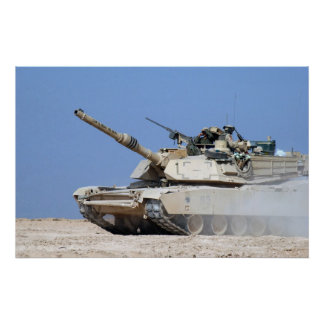 M1A1 Abrams Posters
