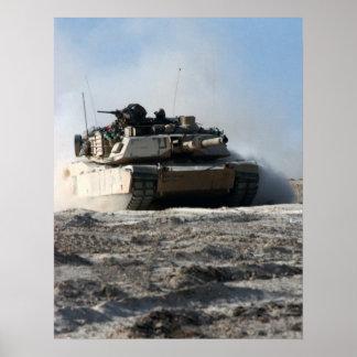 M1A1 Abrams Póster