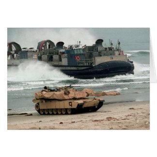 M1A1 & LCAC CARD