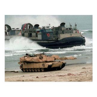 M1A1 & LCAC POSTCARD