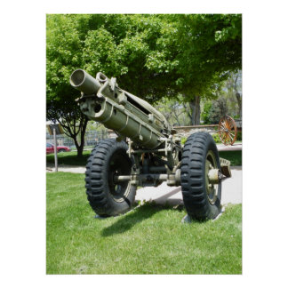 M1A1 Pack Howitzer Poster