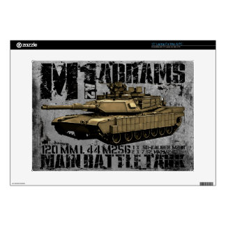 """M1A2 Abrams Decal For 15"""" Laptop"""