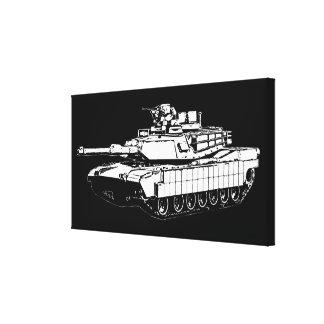 M1A2 Abrams Impresion De Lienzo