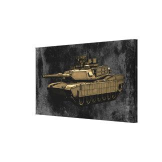 M1A2 Abrams Impresión De Lienzo