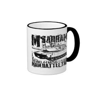 M1A2 Abrams Ringer Coffee Mug