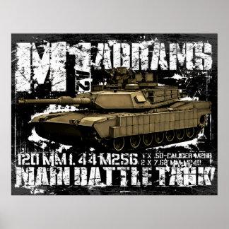 M1A2 Abrams Poster