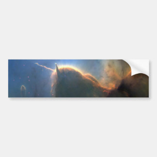 M20 Trifid Nebula in Space NASA Bumper Sticker