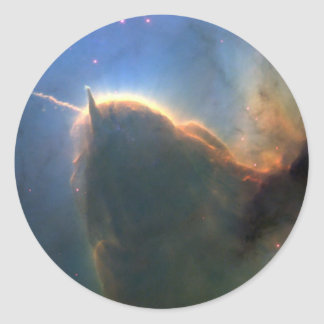 M20 Trifid Nebula in Space NASA Classic Round Sticker