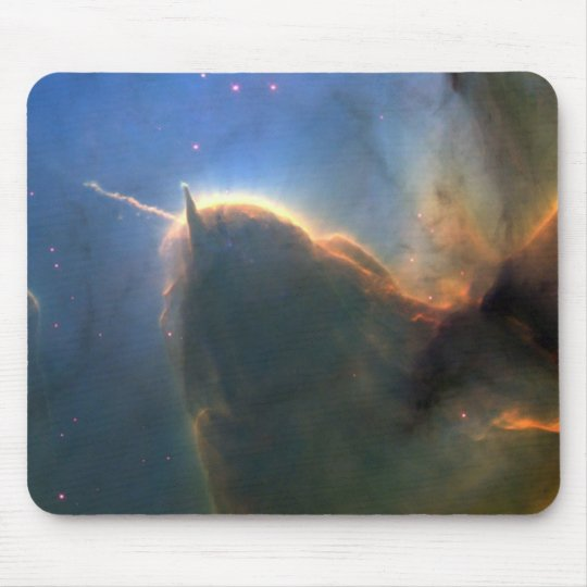 M20 Trifid Nebula in Space NASA Mouse Pad