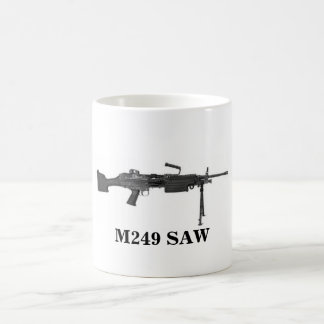 M249 SAW COFFEE MUG