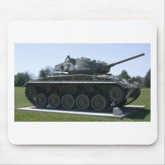 M24 Chaffee Light Tank Mouse Pad