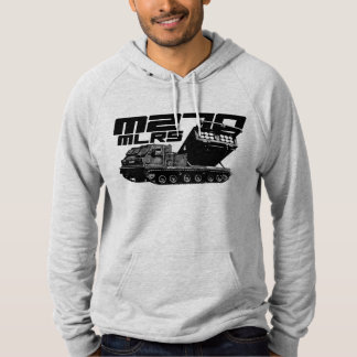 M270 MLRS American Apparel California Fleece Pull Hoodie