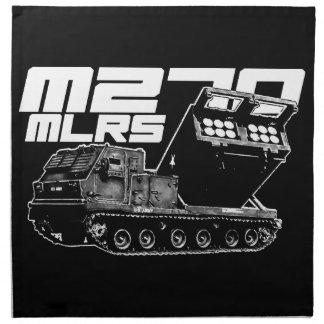"M270 MLRS Cloth Napkins (set of 4) dinner 20"" x 2"