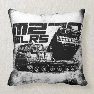 M270 MLRS Grade A Cotton Throw Pillow 20x20