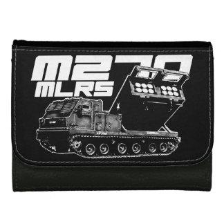 M270 MLRS Medium Leather Wallet