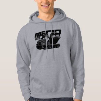 M270 MLRS Men's Basic Hooded Sweatshirt