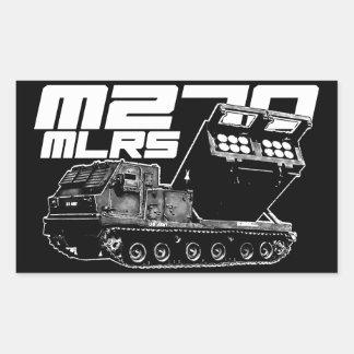 M270 MLRS Rectangle Stickers