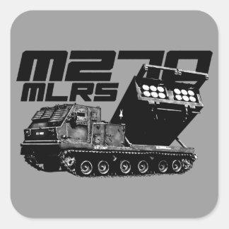 M270 MLRS Square Stickers