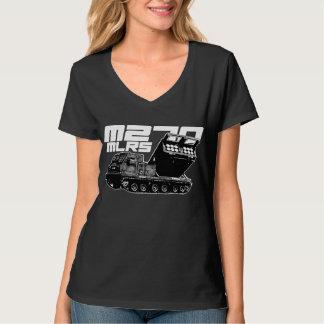 M270 MLRS Women's Hanes Nano V-Neck T-Shirt