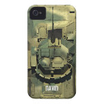 M2A2 Bradley IFV adaptable iPhone 4 Carcasa
