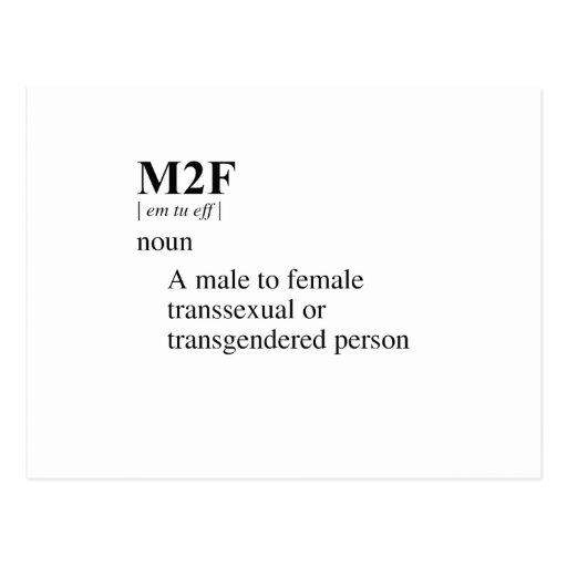 M2F TARJETA POSTAL